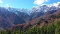 雪に覆われ始めた白馬連山 45169744
