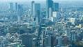 東京・渋谷・タイムラプス・六本木方面から望む・ズームイン 45205901