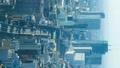 タテ素材 東京・渋谷・タイムラプス・六本木方面から望む 45217406