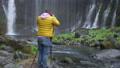 在Fujinomiya市拍攝Shiraito瀑布和瀑布的外國遊客 45414198