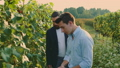 men, vineyard, grapes 45464229