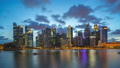 Singapore city skyline with landmark buildings 45505022