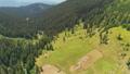Aerial View: beautiful autumn mountain landscape 45520612