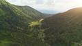 Aerial Drone Flight: beautiful mountain landscape 45520622