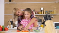 girl, kitchen, daughter 45521370