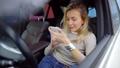 女人 女性 智能手机 45521675
