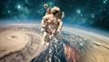 空间 宇航员 地球 45598991