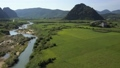 aerial rural river 45668525