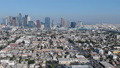 Los Angeles downtown aerial view footage View from Koreatown 45674865