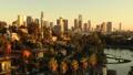 洛杉矶摩天大楼视图的空中图象从Ecopark 45675371
