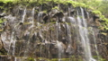 Close up view of waterfall Slow Motion 100fps Loop 45690403