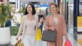 ショッピングセンター モール 女性の動画 45728061