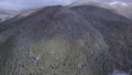 Aerial video of winter panorama in mountains 45817293