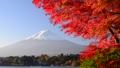Autumn leaves by the Lake Kawaguchi and Mount Fuji-6078183 45860104