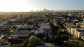 Los Angeles Aerial View Miracle Mile to Beverly Hills 45868754