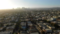 Los Angeles Aerial View Miracle Mile to Beverly Hills 45868755