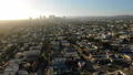 Los Angeles Aerial View Miracle Mile to Beverly Hills 45868756