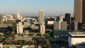 Los Angeles Aerial View Sunset Downtown 45868759