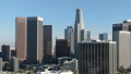 Los Angeles Aerial View Downtown Skyscrapers Group Financial District 45868761
