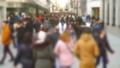 People on Calle del Carmen Street. Madrid, Spain.  45908421