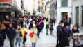 People on streets of Madrid. Out of focus.  45908425
