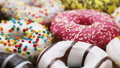 assorted donuts with different fillings and icing 45929833