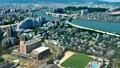 城市景觀福岡市正常速度 45981224