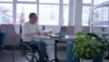 internet purchases, successful handicapped into eyeglasses in wheelchair with credit card does 46011636