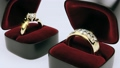 3D Animation Rendering of Diamond Rings 46054349