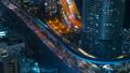 东京,交通,延时,各种运输是平行的,高速公路,铁路,大城市的噪音,向上倾斜 46066391