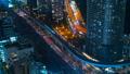东京,交通,延时,各种交通是平行的,高速公路,铁路,大城市的喧嚣,修复 46066393