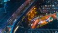垂直材料东京,交通,延时,各种交通共存,高速公路,铁路,大城市的喧嚣 46066397