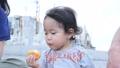 一歳の女の子 一歳児 一歳 幼児 赤ちゃん 女性 人物 かわいい 屋内 スローライフ ライフスタイル 46069346