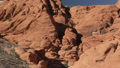 Aerial image of Nevada gorge and desert Red rock Canyon 46092585