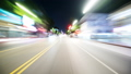 Hyper Laps car video Hollywood night view 46093359