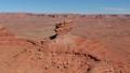 航空照片在美国西部沙漠附近的纪念碑山谷和犹他州大峡谷 46105705