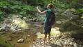 ハイキング 山歩き 女性の動画 46172145