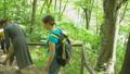 ハイキング 山歩き 階段の動画 46192385