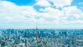 8K ·ทิวทัศน์ของโตเกียว·เวลาล่วงเลย·ท้องฟ้าฤดูร้อน·ทางเข้าถนน·ความละเอียดสูง 8K RAW เพื่อตัด·เอียง 46288306
