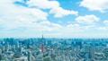 8K ·ทิวทัศน์ของโตเกียว·ตามเวลา·ท้องฟ้าฤดูร้อน·ทางเข้าถนน·ความละเอียดสูง 8K RAW เพื่อตัดแต่ง·กระทะ 46288309
