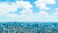 8K ·โตเกียว·ทิวทัศน์·ตามช่วงเวลา·ท้องฟ้าฤดูร้อน·ทางเข้าถนน·ความละเอียดสูง 8K RAW เพื่อตัดแต่ง·ท้องฟ้าขนาดใหญ่ 46288312