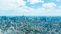 8K ·โตเกียว·ทิวทัศน์·ตามช่วงเวลา·ท้องฟ้าฤดูร้อน·ทางเข้าถนน·ความละเอียดสูง 8K RAW เพื่อตัดแต่ง·ซูมออก 46288316