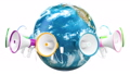 广告 全球 地球 46303004