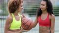 basketball, women, friends 46309621