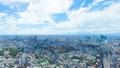從六本木俯瞰東京,地平線從澀谷到惠比壽目黑橫濱地區的延時 46315161