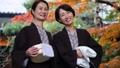 溫泉旅行父母子女母親和女兒家庭旅行形象 46330398