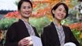 溫泉旅行父母子女母親和女兒家庭旅行形象 46330399