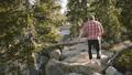 男 ハイキング 山歩きの動画 46339527