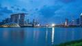 Singapore skyline day to night time lapse 46365117