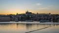 Prague city skyline day to night time lapse 46365123